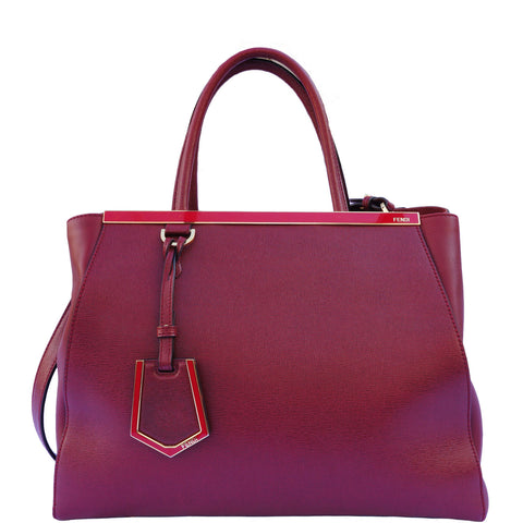 FENDI MEDIUM 2JOURS TOTE - leefluxury.com
