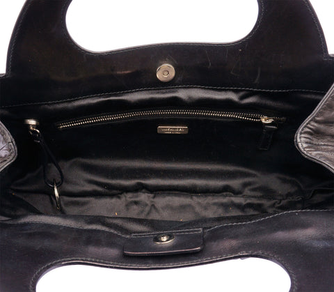 JILL SANDER TOP HANDLE LEATHER BAG on Leef Luxury authentic designer resale consignment
