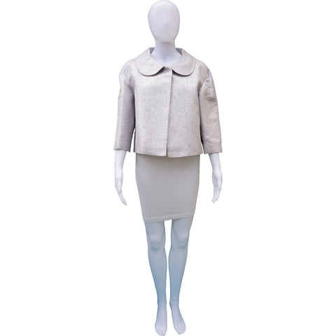 KATE SPADE NEW YORK METALLIC BROCADE JACKET - leefluxury.com