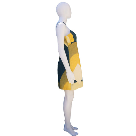 MARC JACOBS GRAPHIC PRINT MULTICOLOUR DRESS on Leef luxury authentic designer resale consignment
