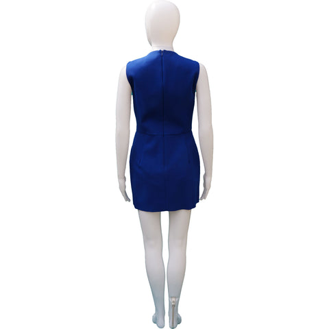 MICHAEL KORS VIRGIN WOOL-BLEND SHEATH DRESS on Leef Luxury authentic designer consignment