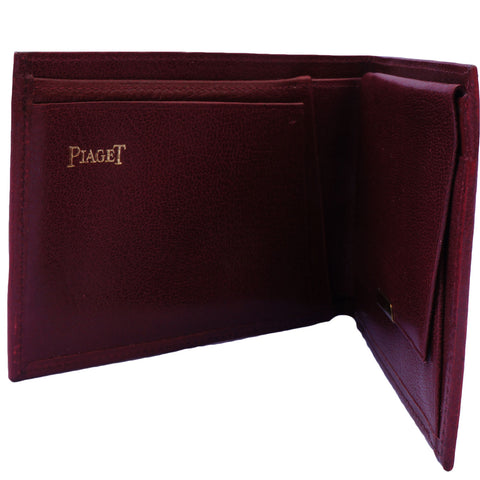 PIAGET MEN'S LEATHER WALLET - leefluxury.com
