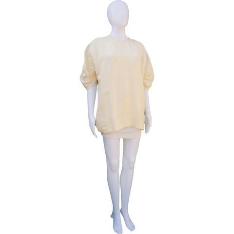 PRADA CREW NECK SHORT SLEEVE TUNIC TOP on Leef luxury authentic designer resale consignment
