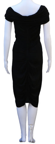 EMILIO PUCCI BLACK JERSEY DRESS - leefluxury.com