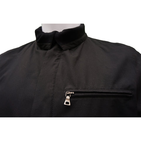 PRADA LIGHTWEIGHT ZIP UP JACKET - leefluxury.com