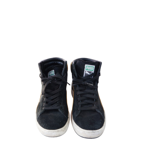 PUMA FIRST ROUND EX HIGH TOP SNEAKERS - leefluxury.com