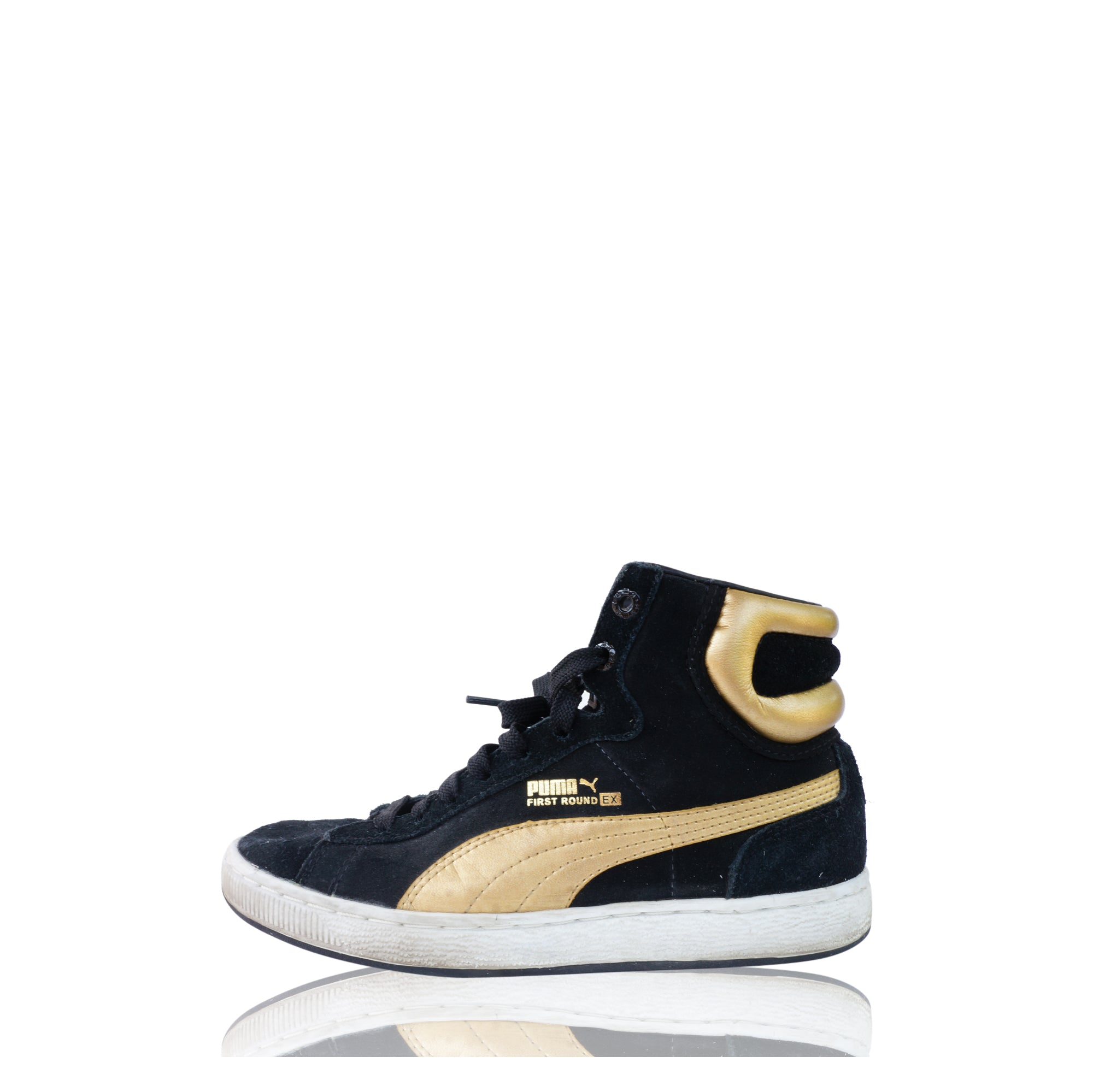 PUMA FIRST ROUND EX HIGH TOP SNEAKERS