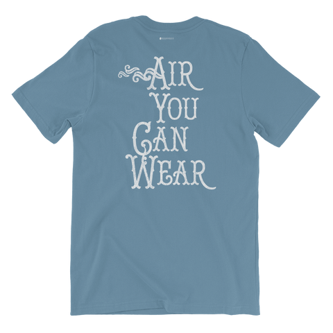 Air You Can Wear \ Distressed Print Design \ Bella + Canvas 3001™ Unisex Premium T-Shirt