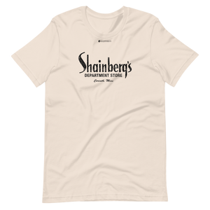 Shainberg's Dept Store \ Distressed Print Design \ Bella + Canvas 3001™ Unisex Premium T-Shirt