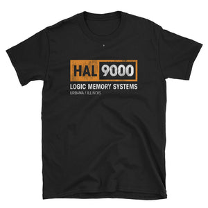 HAL 9000 \ Distressed Print Design \ Gildan™ 64000 Short-Sleeve Unisex T-Shirt