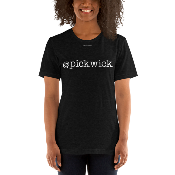 @pickwick \ Distressed Print Design \ Bella + Canvas 3001™ Unisex Premium T-Shirt