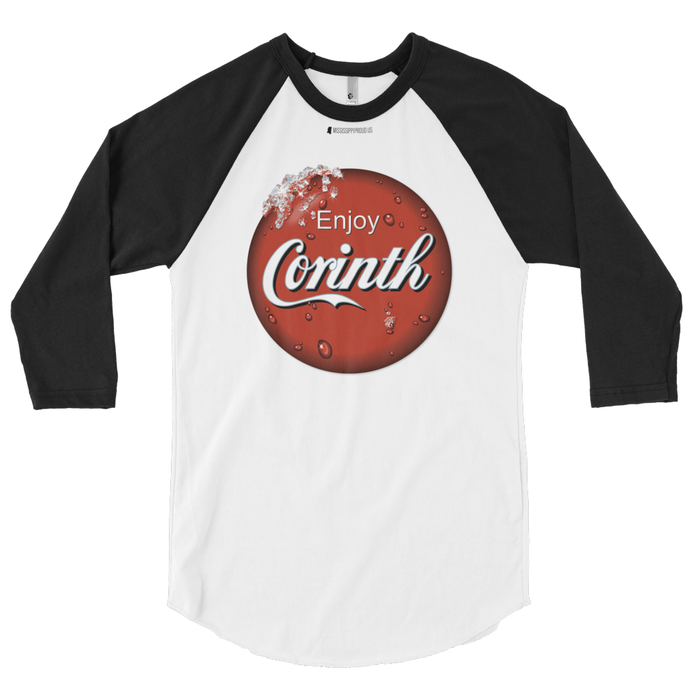 Enjoy Corinth \ American Apparel  BB453 50/50 3/4 Sleeve Raglan Shirt