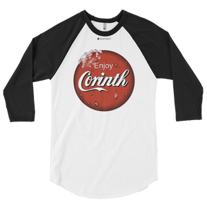 Enjoy Corinth \ American Apparel  BB453 3/4 Sleeve Raglan Shirt