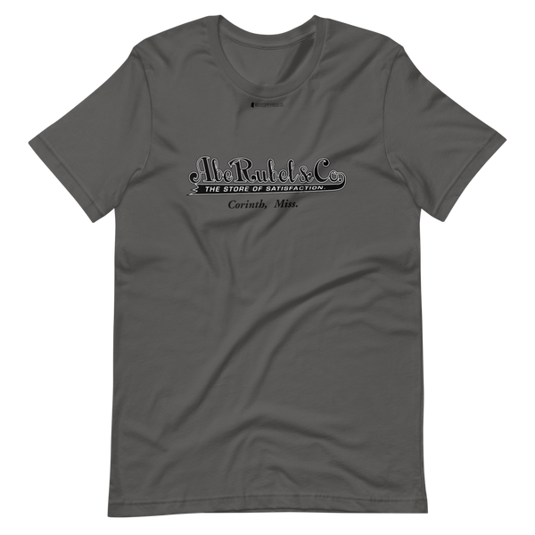 Abe Rubel & Co \ Distressed Print Design \ Short-Sleeve Unisex T-Shirt