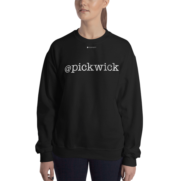 @pickwick \ Distressed Print Design \ Gildan™ 18000 Unisex Crew Neck Sweatshirt
