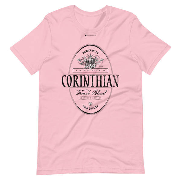 Imported Corinthian \ Distressed Print Design \ Bella + Canvas 3001™ Unisex Premium T-Shirt