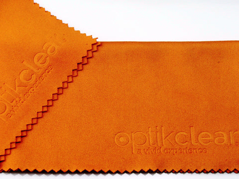 Optikclear Premium Microfiber Lens/Screen Cleaning Cloths - 5 pack (Free Shipping & Handling)