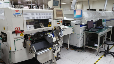 SMT placment and reflow