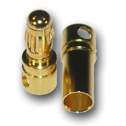 3.5mm bullet connector male - Vanda Electronics