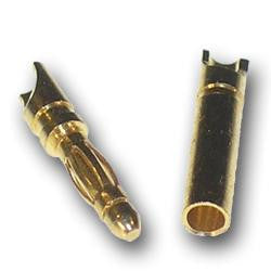 2mm bullet connector male - Vanda Electronics