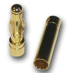 4mm bullet connector male - Vanda Electronics