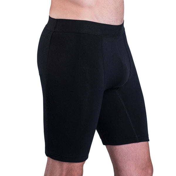 Ultra comfortable with integrated sweat shield guaranteed to stop thigh, buttock and groin sweat marks