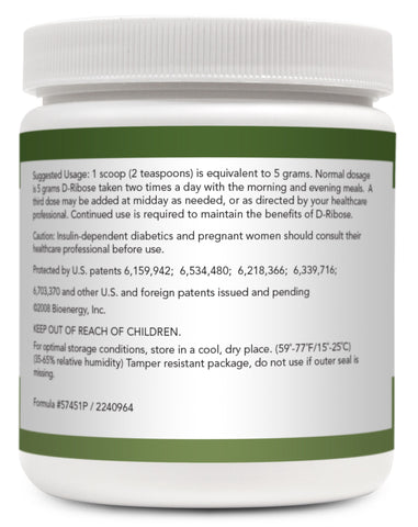 D-Ribose Powder - Free Shipping!