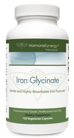 Iron Glycinate 29 mg. | Gentle and Highly Absorbable Iron Formula* | Free Shipping!