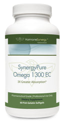 SynergyPure Omega 1300 | 1300 EC Fish Oil | 60 Softgels