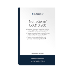 Nutra Gems® CoQ10 300 by Metagenics