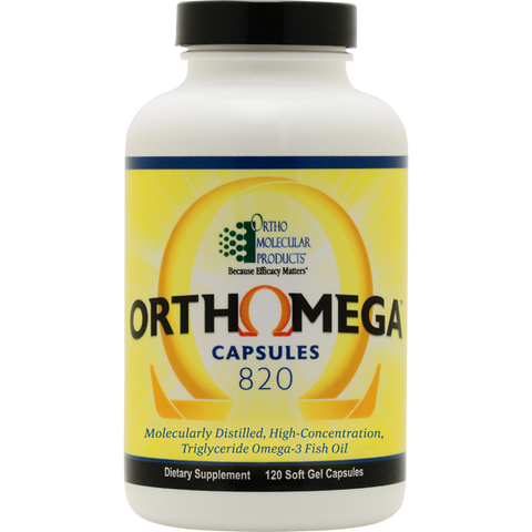 Orthomega® Capsules 820 by Ortho Molecular Products