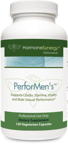 PerforMen's | Natural Testosterone Booster Supports Libido, Stamina, Vitality and Male Performance* | Clinically Proven LJ100, Tribulus, Mucuna Pruriens ++