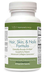 Hair, Skin and Nails Formula | Advanced Collagen Generator* | 60 Capsules | Free Shipping!