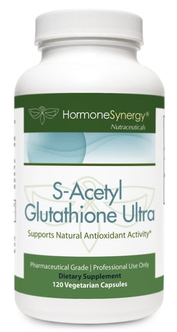 S-Acetyl Glutathione ULTRA | Acetylated  Glutathione PLUS Glutathione (Emothion®) precursor NAC | NOW 120 Vegetable Caps! | Free Shipping!