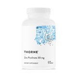 Zinc Picolinate 30 mg by Thorne - 180 Caps - Free Shipping! Limit (1) Per Customer