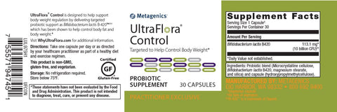 Ultra Flora Control by Metagenics