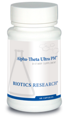 Alpha Theta Ultra PM by Biotics Research - 60 Count - Free Shipping!