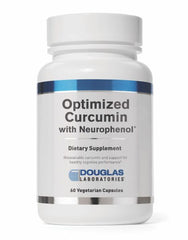 Optimized Curcumin with Neurophenol® - 60 Capsules - Free Shipping!