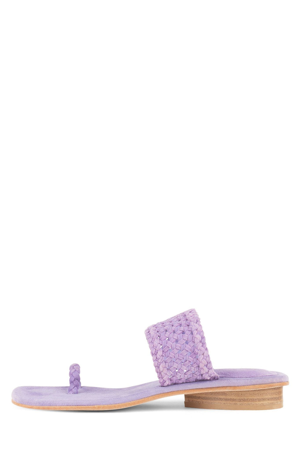 ALTHEA Flat Sandal Jeffrey Campbell Lilac Suede 6
