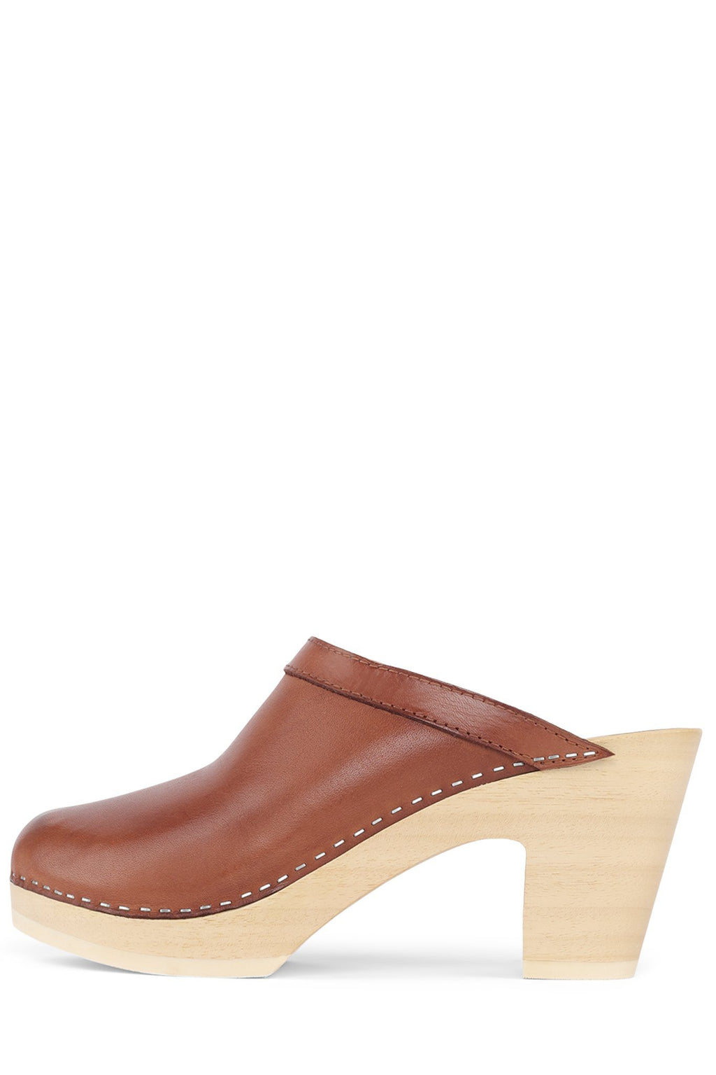 ALYSSE Heeled Mule Jeffrey Campbell Tan 36