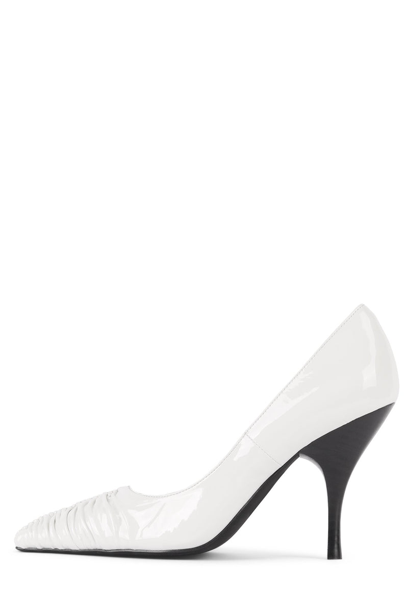 AMELIAH Pump STRATEGY White Patent 6