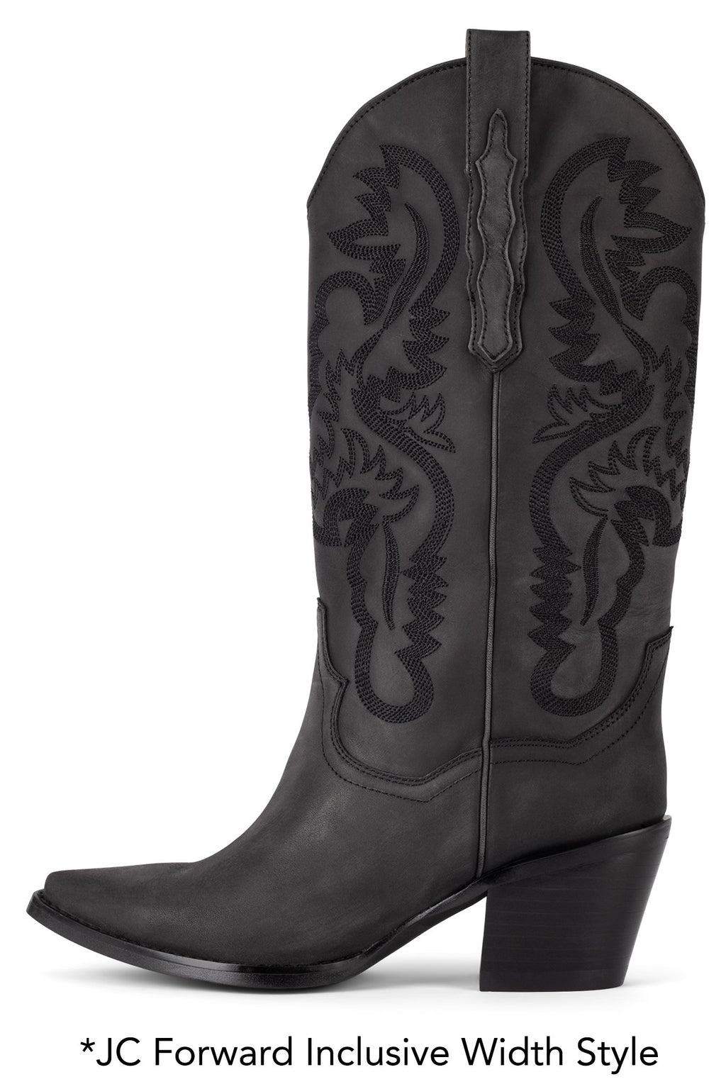 AMITY Mid-Calf Boot STRATEGY Black Washed 5W
