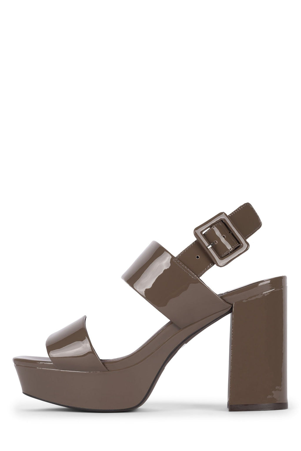 AMMALY Jeffrey Campbell Taupe Patent 5