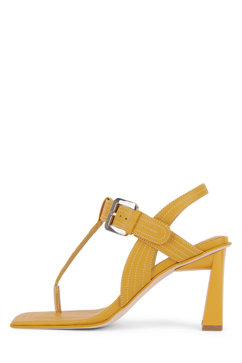 AMOK-HI Heeled Sandal Jeffrey Campbell Yellow 6