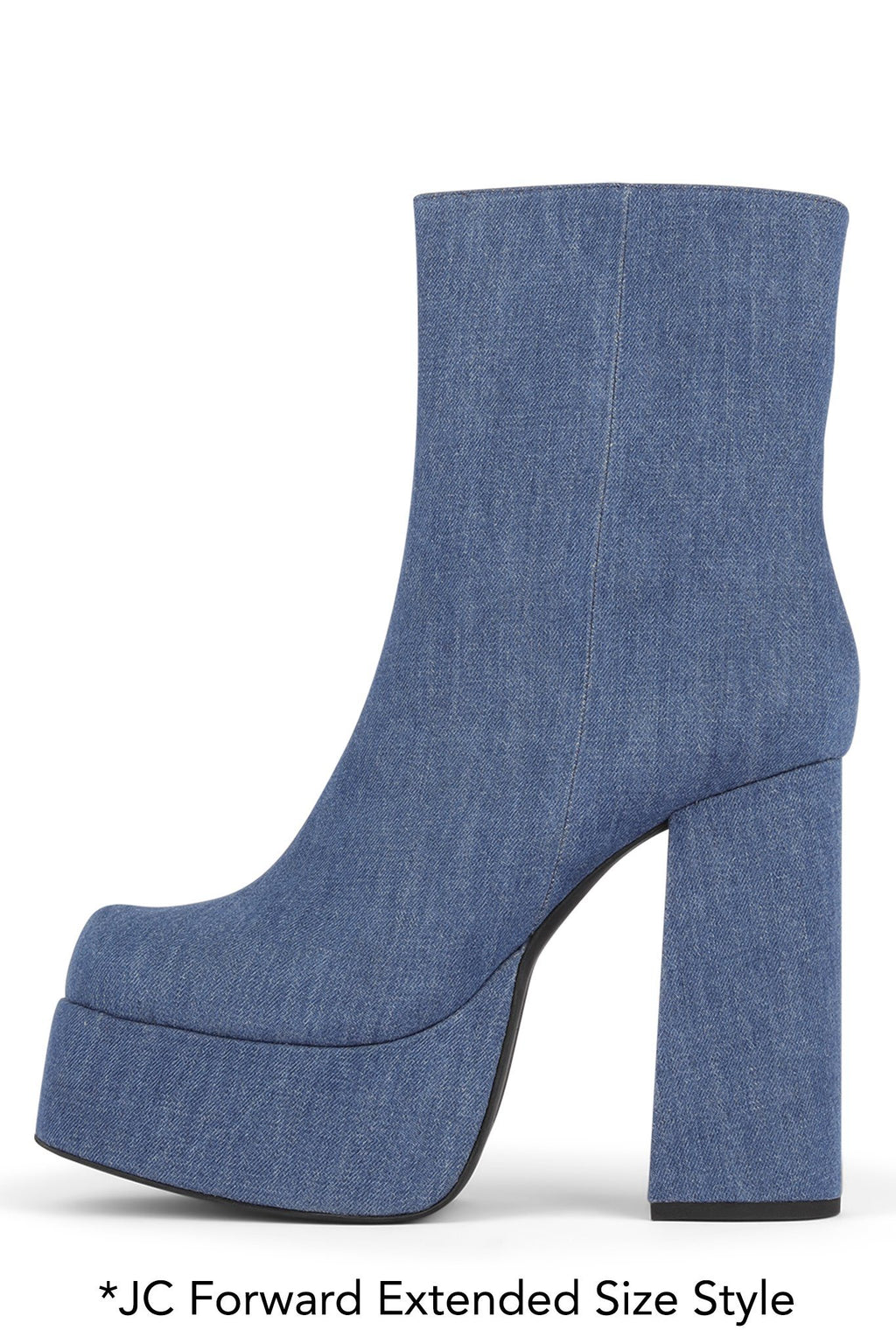 ARANEAE Platform Boot HS Blue Denim 12