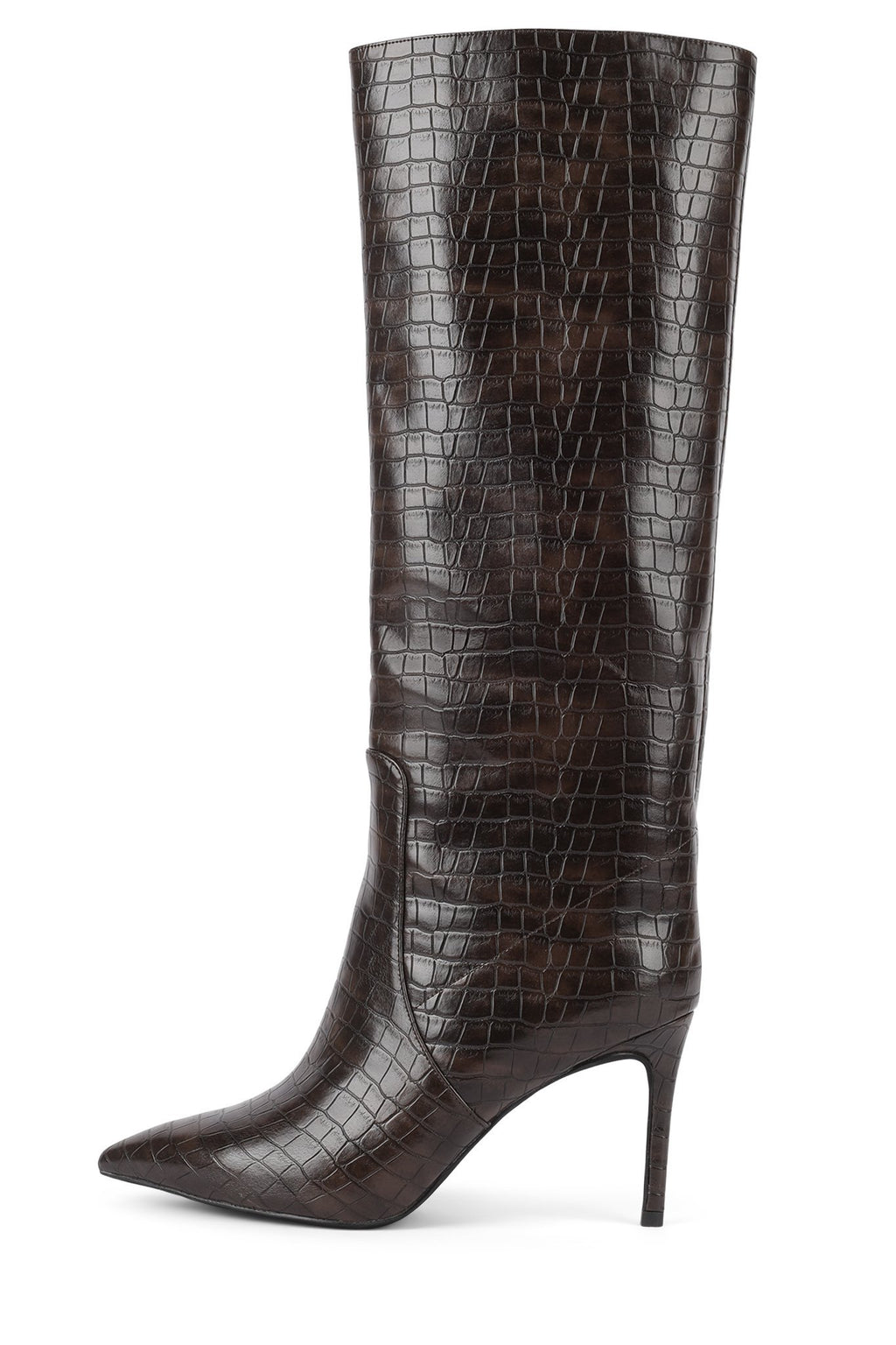 ARSEN Jeffrey Campbell Brown Croco 5