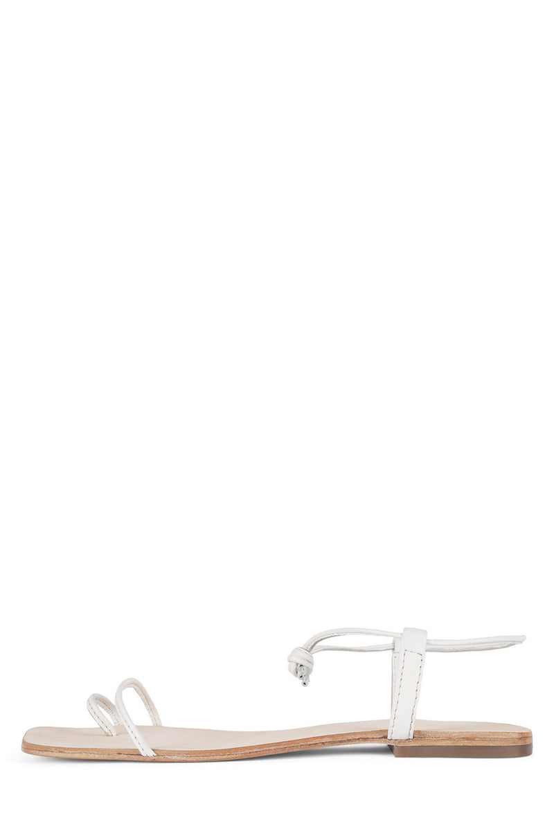 ASTER-2 Flat Sandal Jeffrey Campbell White 6