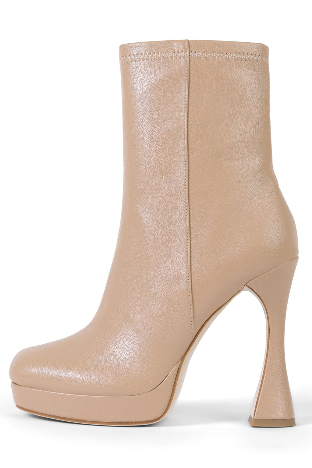 BEL-AIR Platform Boot STRATEGY Beige 6