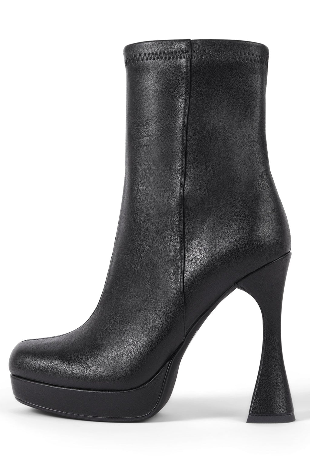 BEL-AIR Platform Boot STRATEGY Black 6