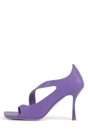 BERGER-HI Heeled Sandal YYH Purple 6